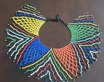 Beaded South African Necklace