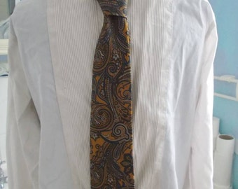 1970s Funky Paisley Psychedelic Tie