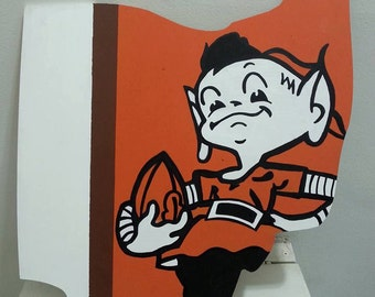 Cleveland Browns Elf Ohio Wall Art