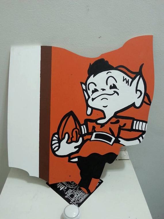 Cleveland Browns Elf Ohio Wall Art