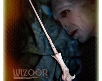 resin cast inspired by Voldemort Wand - Bacchetta ispirata a Voldemort in resina!