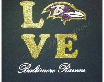 Ravens Love Shirt