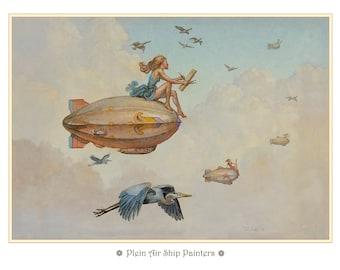 Plein Air Ship Painters