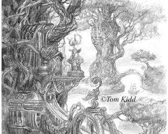 Trees Palace (drawing)