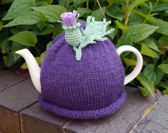 Scottish Gift Thistle Flower Tea Cosy