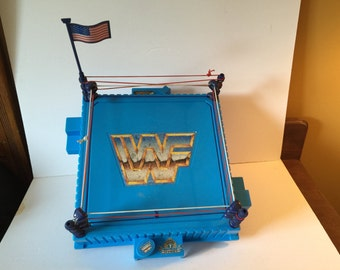 WWF Wresting Ring w/Flag