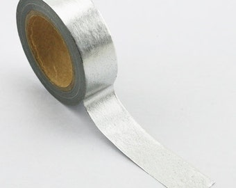 Foil Tape, Silver, 15mm x 10m