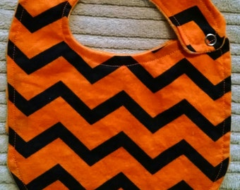 New Parent Gift- Chevron Bib or Burp Cloth