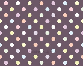 Polka Dot Backdrop - colorful dots - Printed Fabric Photography Background G0110