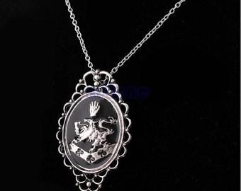 Cullen Crest - Twilight Saga - Alice and Rosalie Cameo Necklace