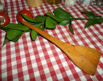 Handmade Spatula made from Hawthorn Wood