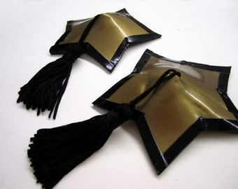 Star-shaped Latexpasties with tassels
