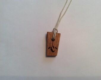 Heart Kanji Amulet