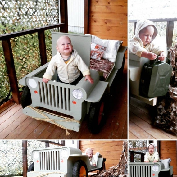 Jeep Bed Plans Toddler Size By FriendbeWorkshop On Etsy