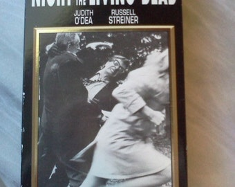 Night of the Living Dead 1968 VHS