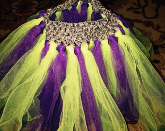 Purple/green tutu