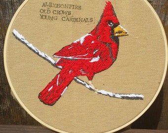 Alexisonfire Embroidery Hoop