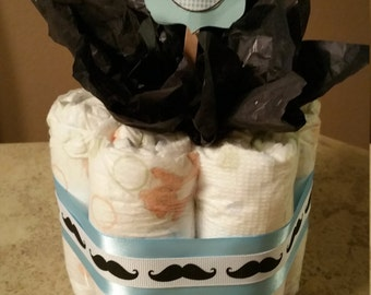 Boy Diaper centerpiece