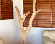 Tree Rustic Stand Coat, Tree Coat Rack, Wooden Stand Coat, Coat Rack, Wood Coat Stand, Coat Stand, Decoración, Tronco natural, Perchero