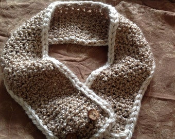 Versitile Crochet Scarf/Neck warmer
