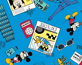 Disney Mickey Just Say Cheese Fabric From Springs Creative