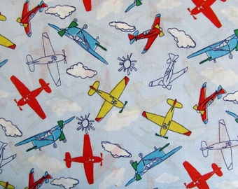 Planes Flying High Fabric