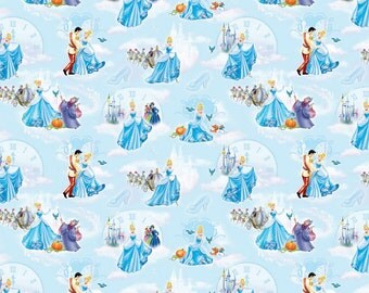 Disney Cinderella at the Ball Fabric From Springs Creative