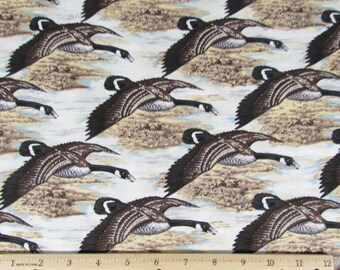 Geese in Flight Fabric