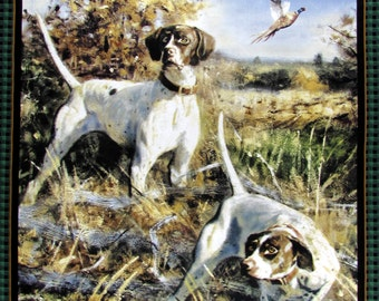 Wild Wings Point North Dog Fabric