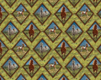 Wild Wings Camdon Ridge Diamonds Fabric