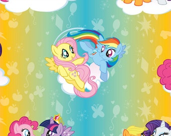 My Little Pony Ombre Fabric
