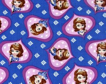 Disney Sophia the First Ogee Fabric