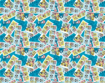 Spongebob Life is Sweet Fabric