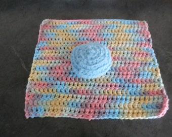 Hand Crocheted Kitchen Set 2