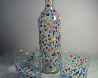 Confetti Beverage Set