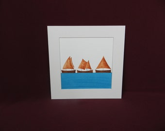 I Saw Three Ships - Coffee (R11)