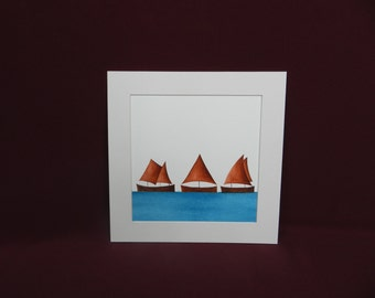 I Saw Three Ships - Chocolate (R13)