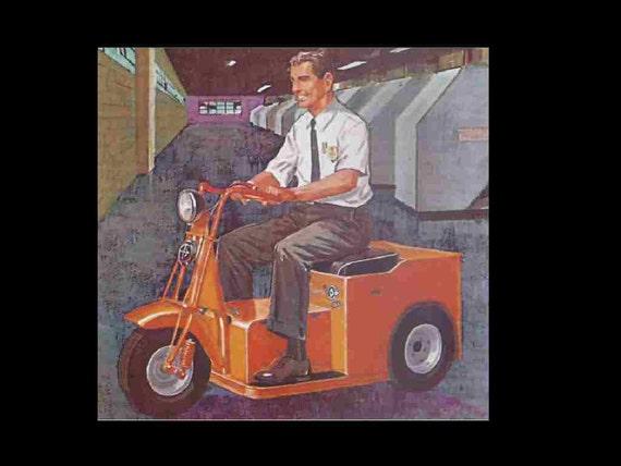 Cushman Minute Miser Electric Cart  U0026 Scooter Manuals 95pgs