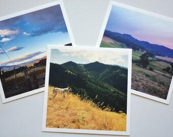 Oregon Sunset set of 3 prints