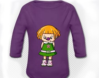 Body long sleeve Butterfly Redhead