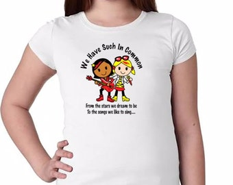 We Have Such In Common T-Shirt: Musician Girls