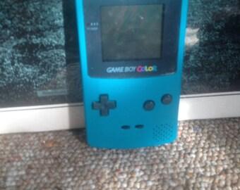 Teal gameboy color