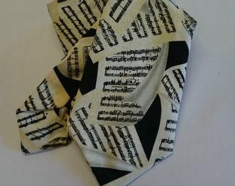 Sheet music tie.