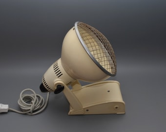 Restored and rebuild Dutch Philips industrial lamp, 1950s
