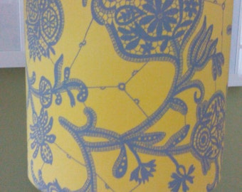 20cm drum lampshade amy butler fabric