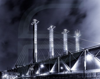 Kansas City's Bartle Hall Pylons (in Silver)