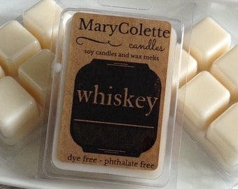 Whiskey Soy Wax Melt | Eco Friendly Soy Wax Melts | Whiskey Scent | Masculine Scent | Whiskey Gift