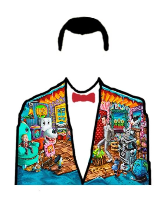 Pee-Wee Pop Art 11x17