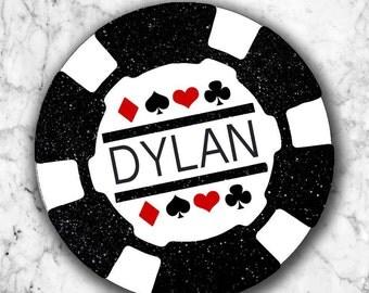 Poker Chip Stickers DIGITAL DOWNLOAD