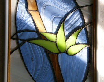 Stained Glass Panel Bamboo